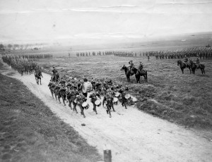 7th-Battalion-Canadian-Infantry-C.E.F.-on-inspection-parade-1917-300x230
