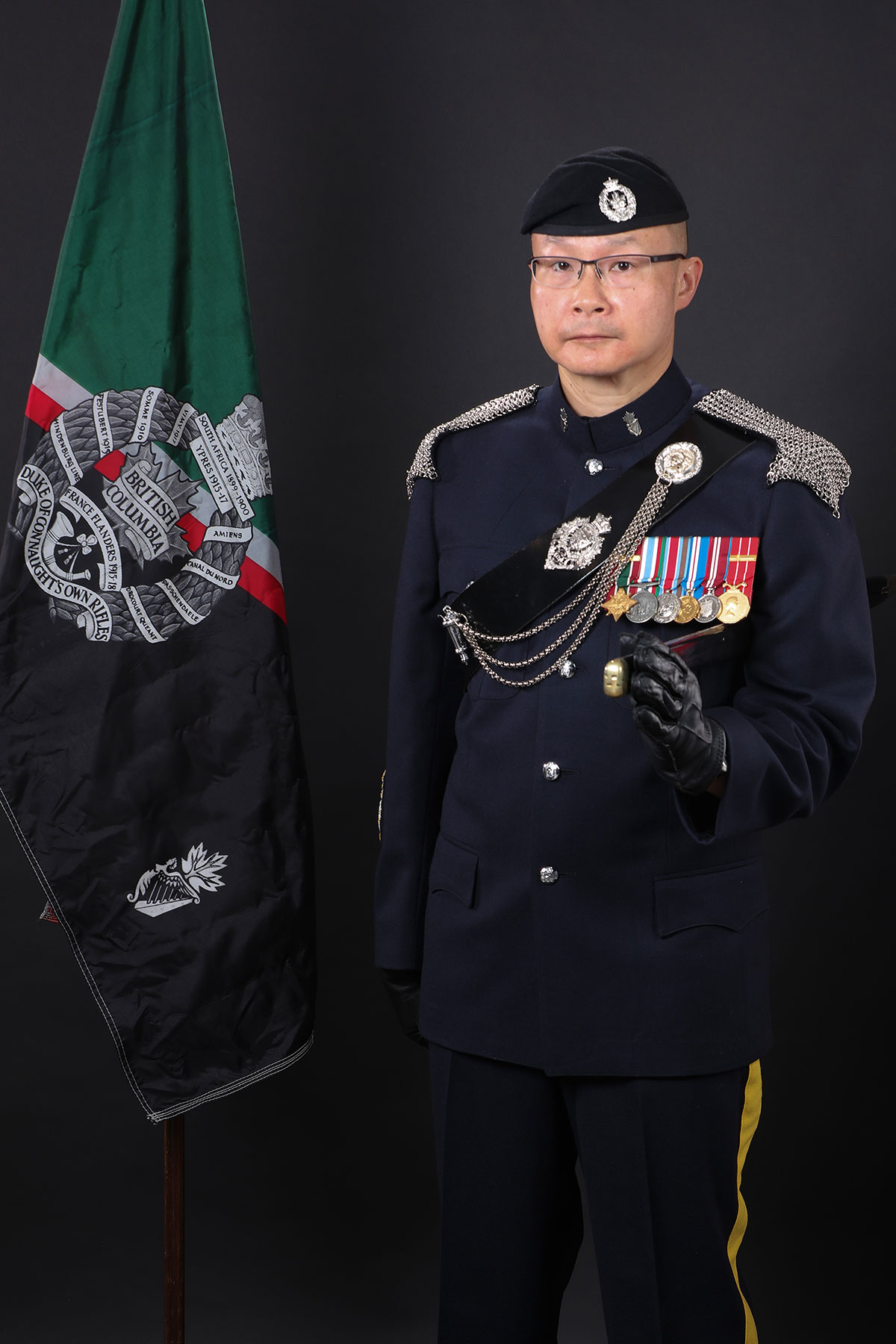 Chief Warrant Officer A.C. Harris, CD